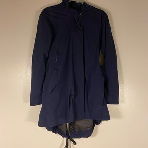 Navy Lululemon Raincoat